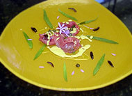 Lamb Carpaccio