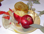 Stuffed Red Delicious Apple